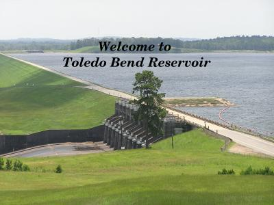 Sabine river authority state of louisiana toledo bend for Toledo bend fishing